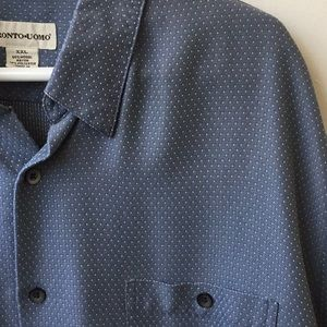 Other - Pronto uomo casual button down shirt
